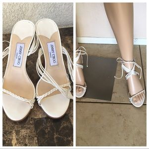 Jimmy Choo London white Women's Shoes Size 37.5